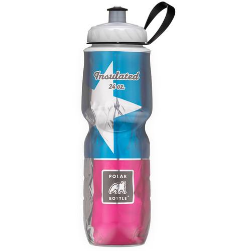 Polar Bottle Insulated Sport Bottle (24 fl oz , Texas State Flag)