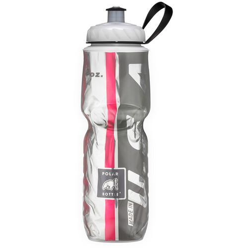 Polar Bottle Insulated Sport Bottle (24 fl oz , Team Red and Black)