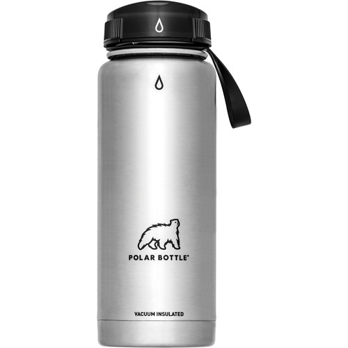 Polar Bottle Thermaluxe Vacuum Insulated Stainless Steel Water Bottle (21 fl oz)
