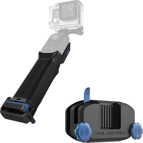 Polar Pro The Combo with ProGrip and StrapMount for GoPro