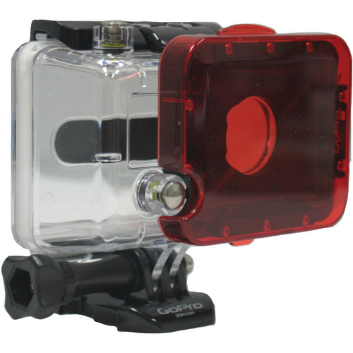 Polar Pro Red Underwater Snap-On Filter for GoPro HERO2 Dive Housing