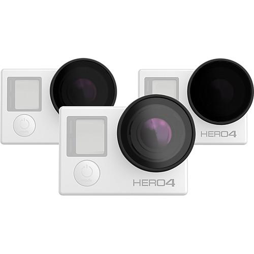 Polar Pro Frame 2.0-FPV Quadcopter Filter 3-Pack for GoPro HERO3 / HERO3+/ HERO4