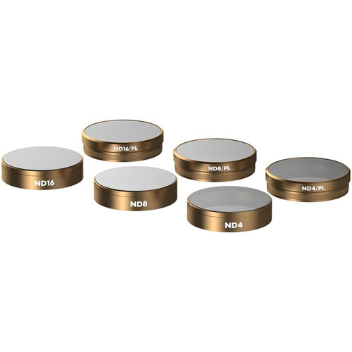 PolarPro Cinema Series Filter Set for DJI Phantom 4 Pro Quadcopter (6-Pack)