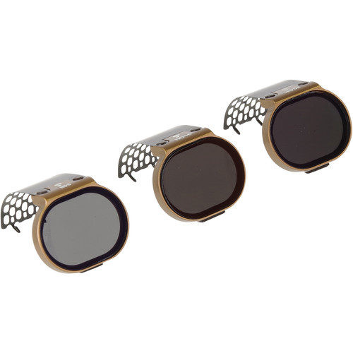 Polar Pro Cinema Series Shutter Collection ND Filters for DJI Spark (3-Pack)