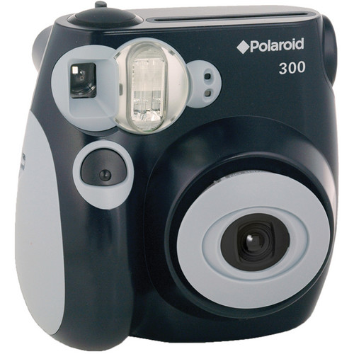 Polaroid 300 Instant Film Camera with Carrying Case and Film Kit (Black)