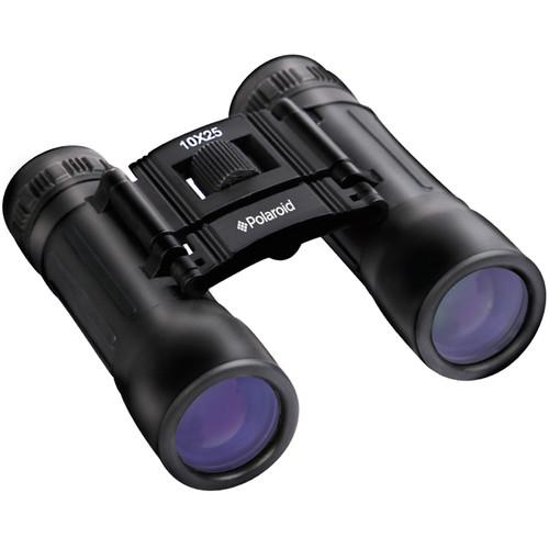 Polaroid 10x25 Compact Binoculars (Clamshell Packaging)