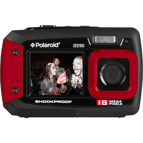 Polaroid iE090 Digital Camera (Red)