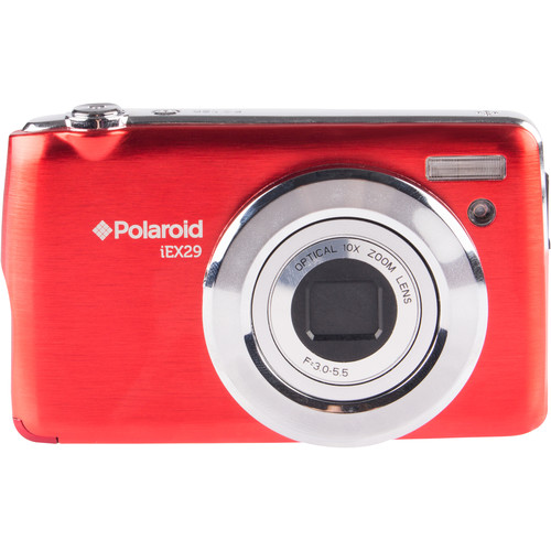 Polaroid iE X29 Digital Camera (Red)