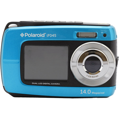 Polaroid iF045 Digital Camera (Blue)