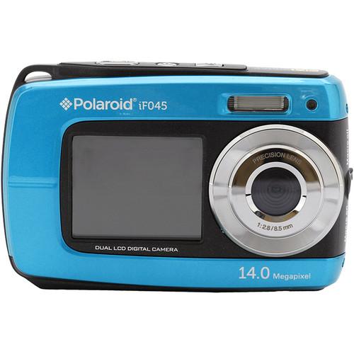 Polaroid iF045 Digital Camera (Blue)