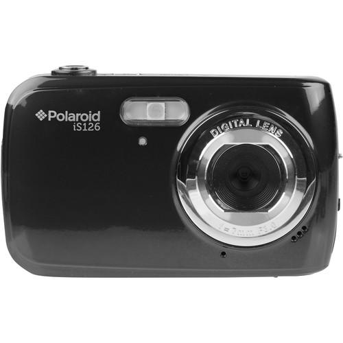 Polaroid iS126 Digital Camera (Black)