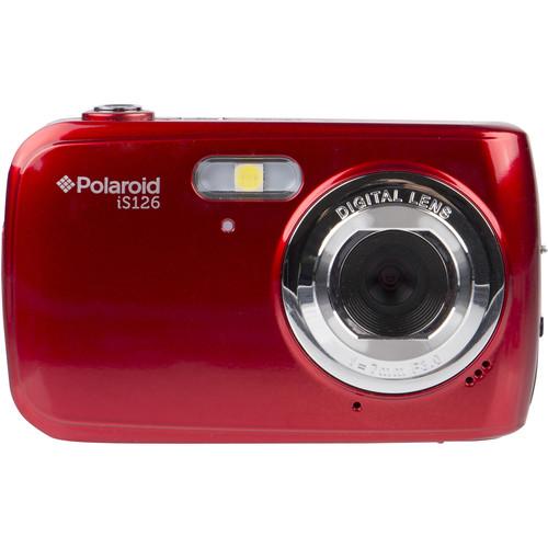 Polaroid iS126 Digital Camera (Red)