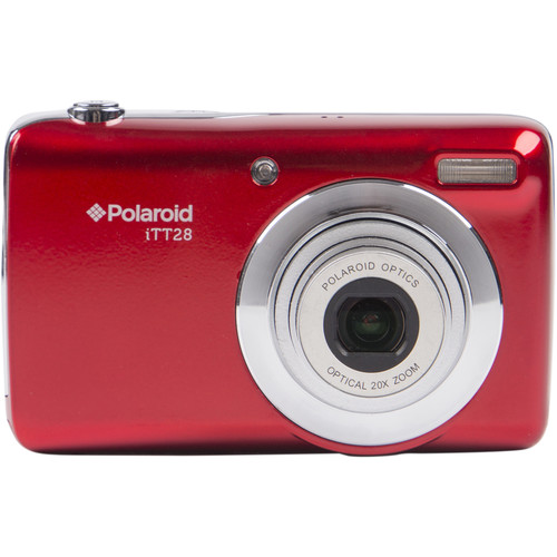 Polaroid iTT28 Digital Camera (Red)