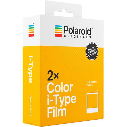 Polaroid Originals Color i-Type Instant Film (Double Pack, 16 Exposures)