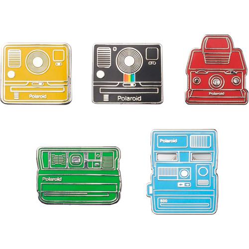 Polaroid Originals Camera Pin Badge (Collector's Kit)
