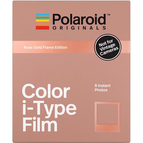 Polaroid Originals Color i-Type Instant Film (Rose Gold Frame Edition, 8 Exposures)
