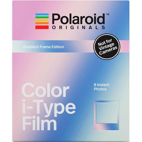 Polaroid Originals Color i-Type Instant Film (Gradient Frame Edition, 8 Exposures)