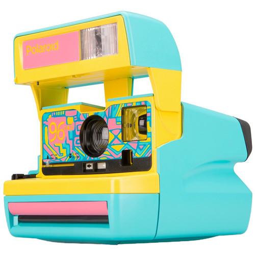 Polaroid Originals 600 96 Cam Instant Film Camera (Fresh Blue)