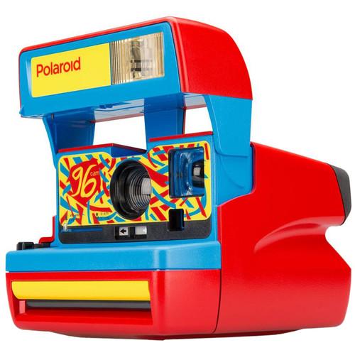 Polaroid Originals 600 96 Cam Instant Film Camera (Jazz Red)