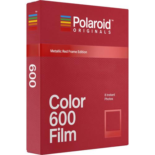 Polaroid Originals Color Film for 600 - Metallic Red Frame Edition (Oct 2018)