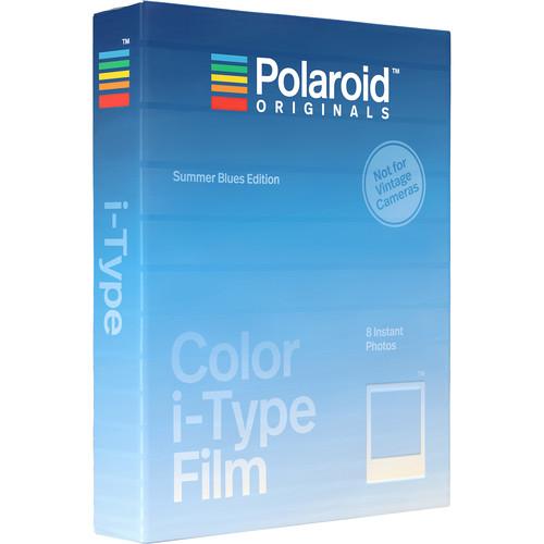 Polaroid Originals Color i-Type Instant Film (Summer Blues Edition, 8 Exposures)