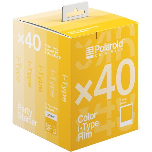 Polaroid Originals Color i-Type Instant Film (5-Pack, 40 Exposures)