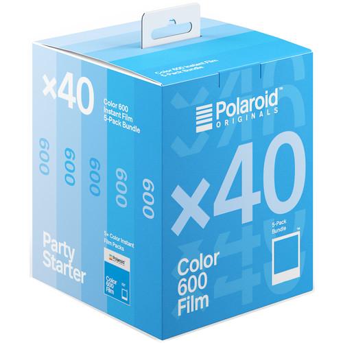 Polaroid Originals Color 600 Instant Film (5-Pack, 40 Exposures)