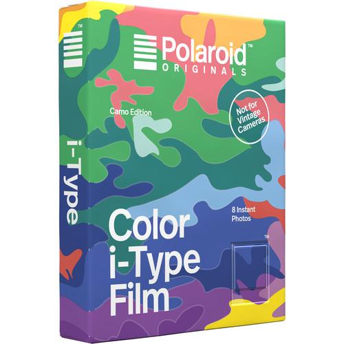 Polaroid Originals Color i-Type Instant Film (Camo Edition, 8 Exposures)