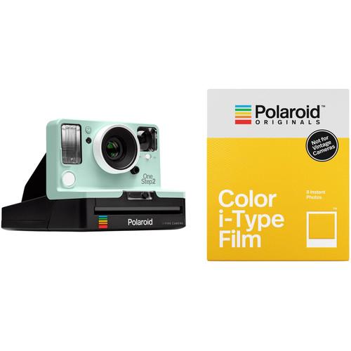 Polaroid Originals OneStep2 VF Instant Film Camera with Color Film Kit (Mint)