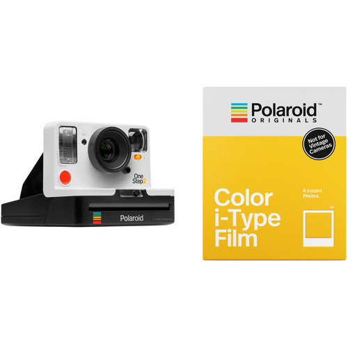 Polaroid Originals OneStep2 VF Instant Film Camera with Color Film Kit (White)