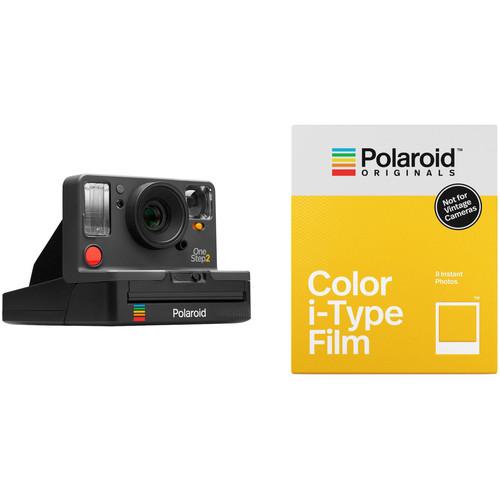 Polaroid Originals OneStep2 VF Instant Film Camera with Color Film Kit (Graphite)