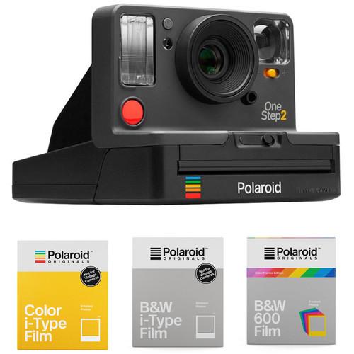 Polaroid Originals OneStep2 VF Instant Film Camera with 3-Pack of Film Kit (Graphite)