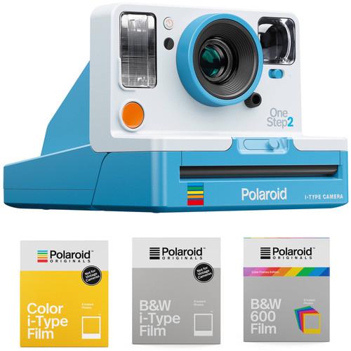 Polaroid Originals OneStep2 VF Instant Film Camera with 3-Pack of Film Kit (Summer Blue)