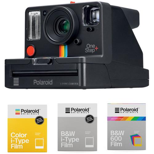 Polaroid Originals OneStep+ Instant Film Camera with 3-Pack of Film Kit