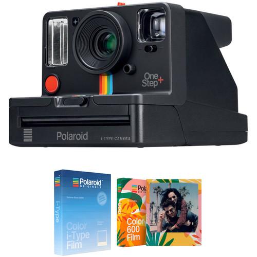 Polaroid Originals OneStep+ Instant Film Camera with Ice Cream and Tropics Edition Film Kit
