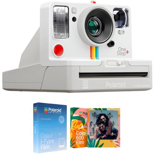 Polaroid Originals OneStep+ Instant Film Camera with Summer Blues and Tropics Edition Film Kit