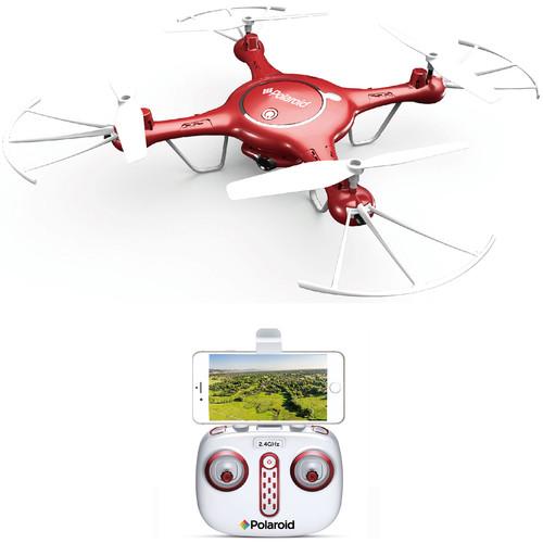 Polaroid PL2000 HD 720P Wi-Fi Camera Drone (Red)