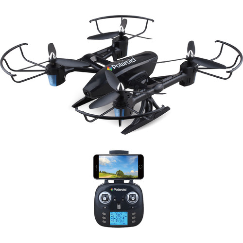 Polaroid PL2500 Quadcopter with 720p HD Wi-Fi Video (Black)