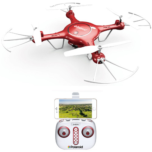 Polaroid PL2800 Quadcopter with 480p Camera