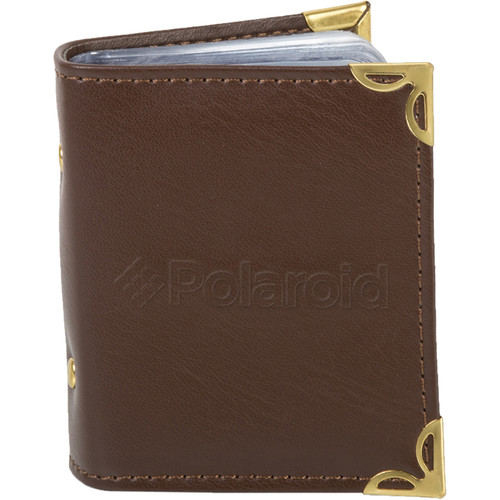 "Polaroid 2 x 3"" Photo Album (Brown)"