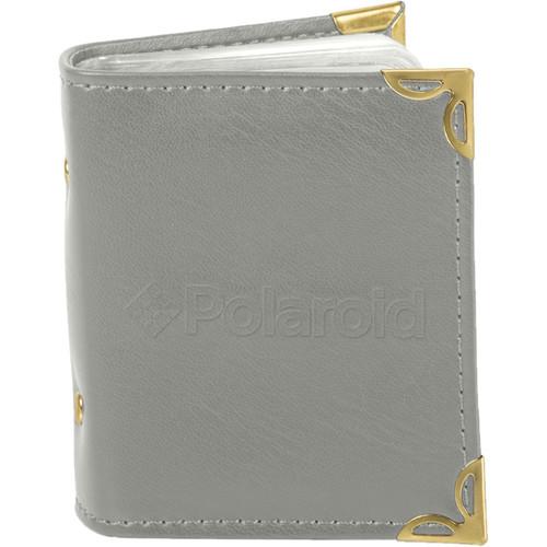 """Polaroid 2 x 3"""" Photo Album (Gray)"""