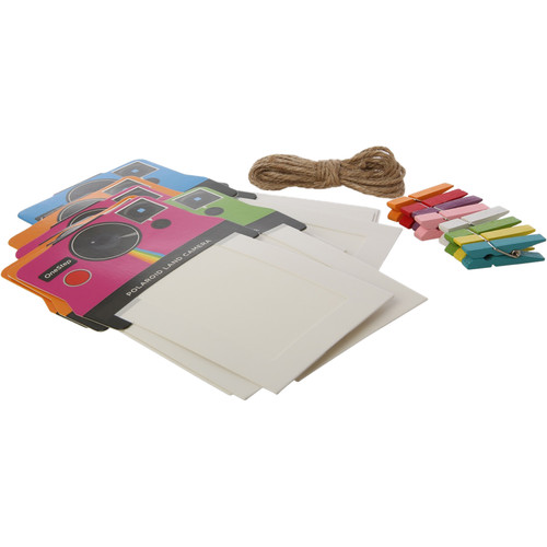 "Polaroid 2 x 3"" Vintage Camera Photo Frames (Multi-Color, 8-Pack)"