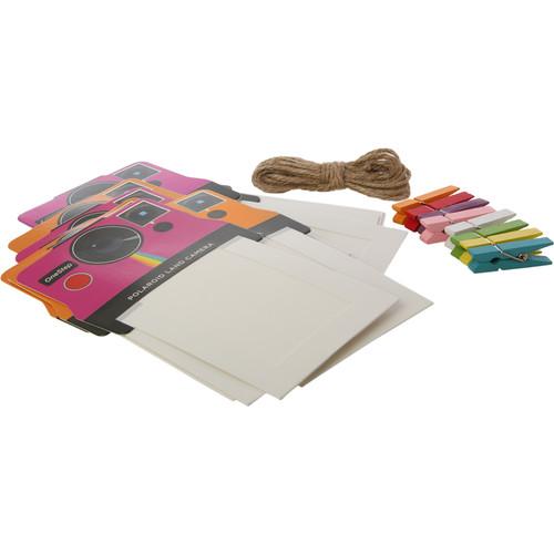 "Polaroid 2 x 3"" Vintage Camera Photo Frames (Pink/Orange, 8-Pack)"