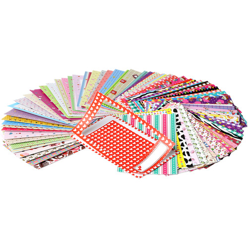 "Polaroid 2 x 3"" Border Frame Stickers (100-Pack)"