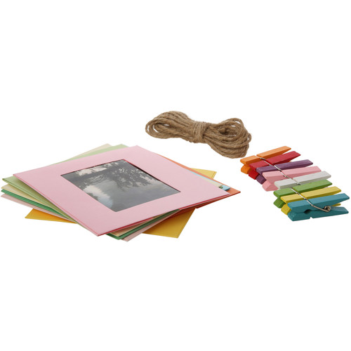 "Polaroid 2 x 3"" Square Color Frame Kit (10-Pack)"
