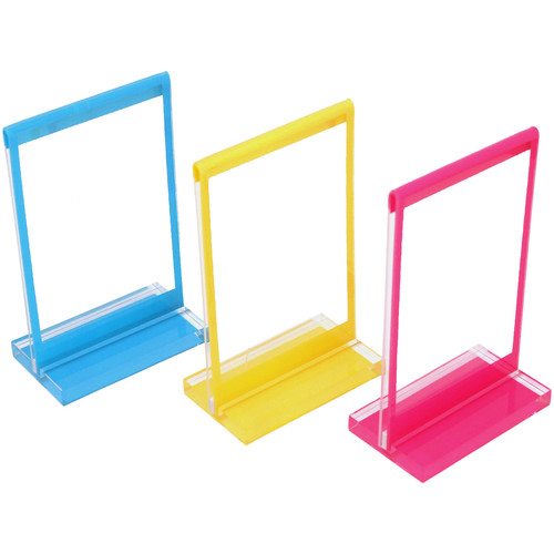 Polaroid Colorful Mini Frames with Stands (3-Pack)