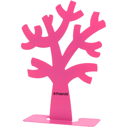 Polaroid Family Tree Stand and Frames (Pink)
