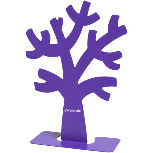 Polaroid Family Tree Stand and Frames (Purple)
