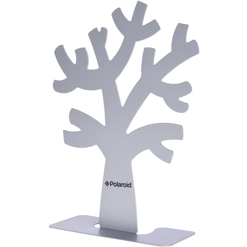 Polaroid Family Tree Stand and Frames (Silver)