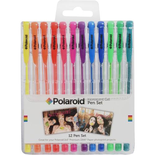 Polaroid Gel Pen Set (Fluorescent, 12-Pack)